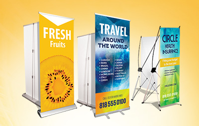 Marketing with Banner Stands