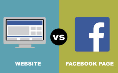 Can't I just use Facebook instead of a website?